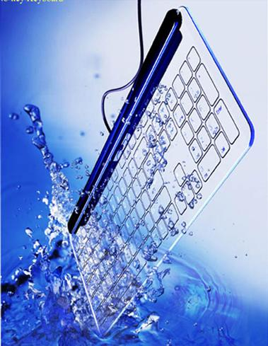 WaterProof Glass Keyboard