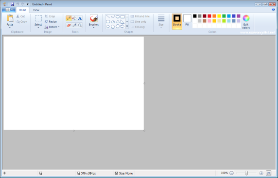 How To Make Picture Background Transparent In  Vista Paint