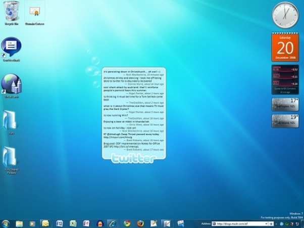 Unreleased Windows 7 Beta Versions====Xclusive Look Windows-7-pre-beta-build-7004