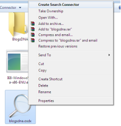 Install Windows 7 Search Connector