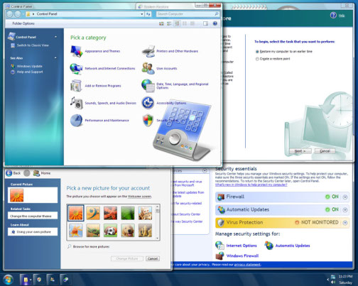 transform windows xp to windows 7 seven skin pack 20 ultimate 2 Seven Skin Pack   Chuyển đổi giao diện Windows XP sang Windows 7