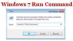 Windows 7 Run Command