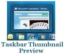 Windows 7 Taskbar Thumbnail Previews