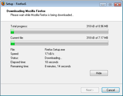Utilu Silent Setup for Mozilla Firefox 1.0.2.8 full