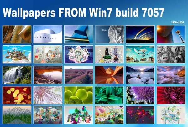 wallpaper windows 7. 30 New Wallpapers