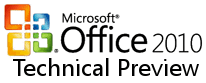 Office 2010 Technical Preview 1 Logo (Office 14)