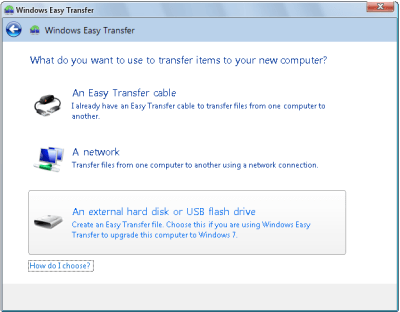 Select Storage for Easy File Transfer