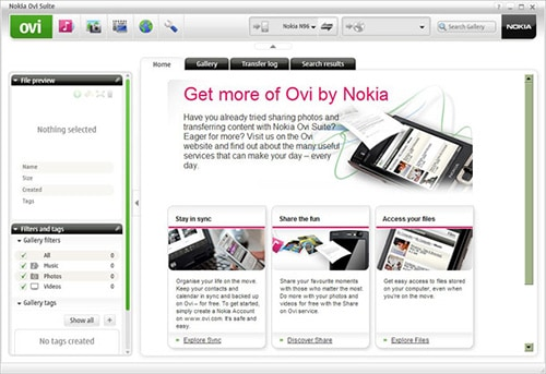 Nokia Ovi Suite 2.0 Beta