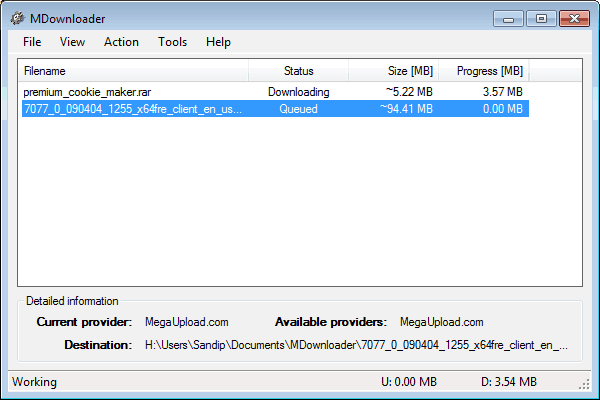 MDownloader Download Manager