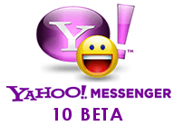 Yahoo Messenger 10 Beta Logo