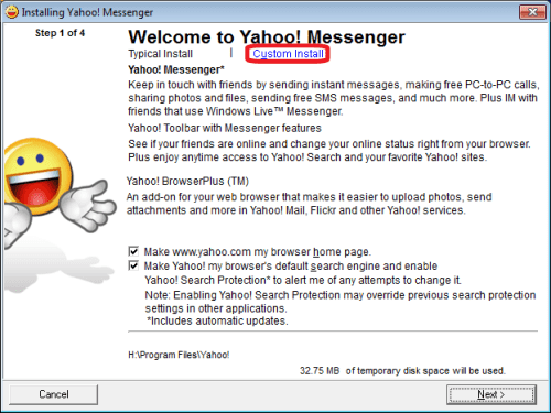 Yahoo! Messenger 10 Beta