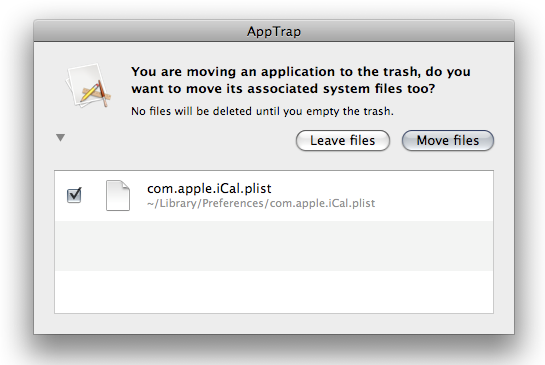 Uninstall Applications on Mac