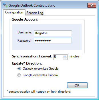 Google Contact Synchronizer