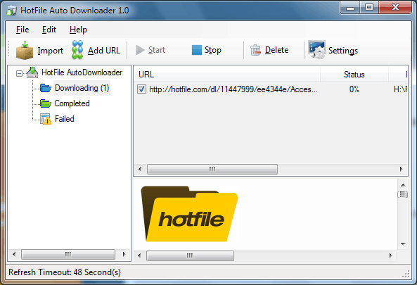 HotFile AutoDownloader