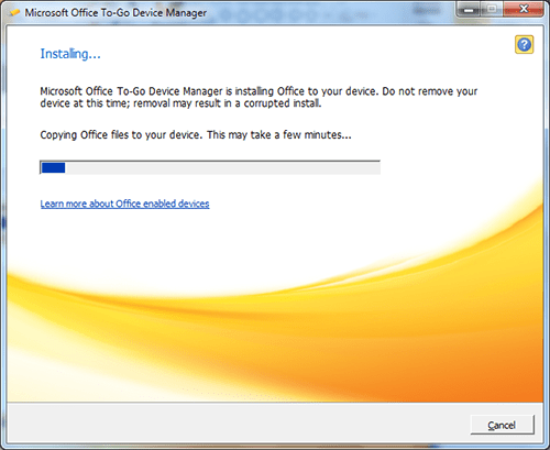 Installing Portable Office 2010