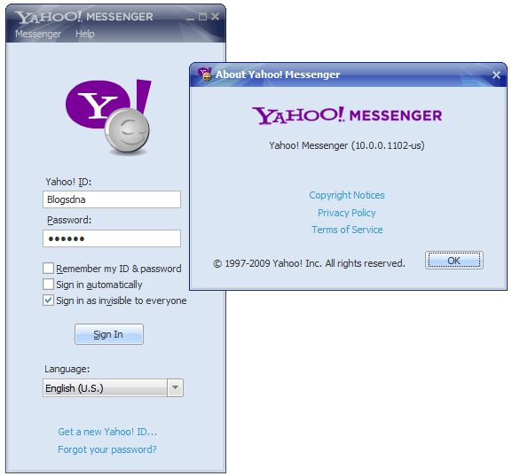 yahoo chat rooms messenger 11 portable