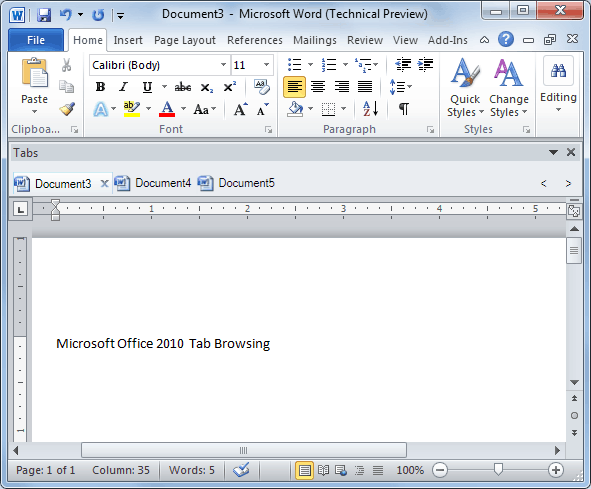 for Microsoft Office 2010