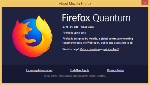 Firefox Quantum Vs Chrome Memory >> Download Firefox Quantum For Windows, Mac & Linux [Direct Download Link]