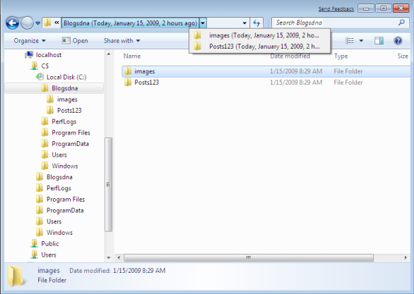 Open Files from System Restore Point