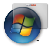 Windows 7 Aero Glass Effect