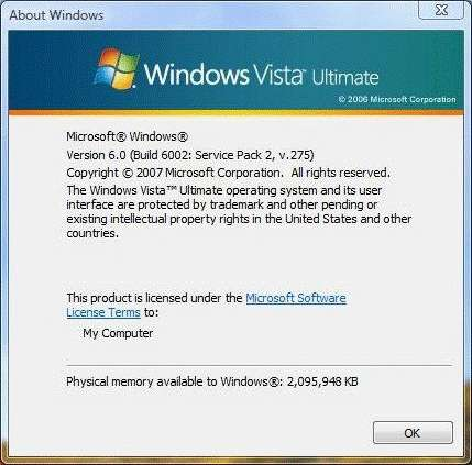 service pack 2 windows vista 32 bit download