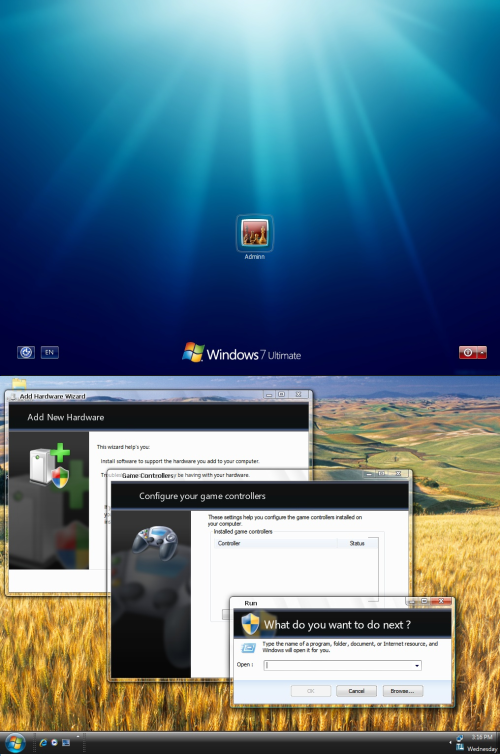 Windows 7  XP Transformation Pack