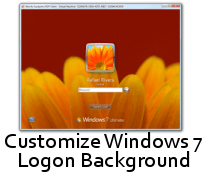 Windows 7 Logon Customized