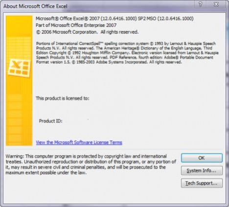 Office 2007 - Service Pack 2 (download)