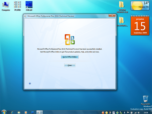 Microsoft Office 2010 Technical Preview 1 v14.0.4006.1010
