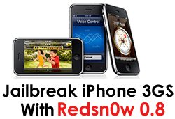 Redns0w 0.8 to Jailbreak iPhone 3GS 3.0