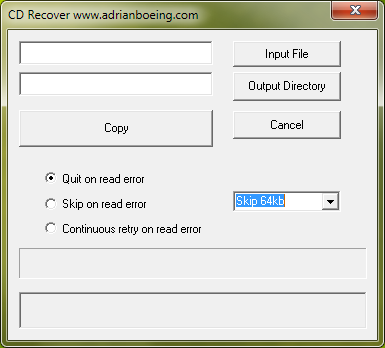 CD Recovery