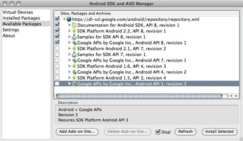Android 2.2 Froyo Emulator for PC and Mac OS X2