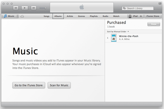 Nuala Skin for iTunes 11
