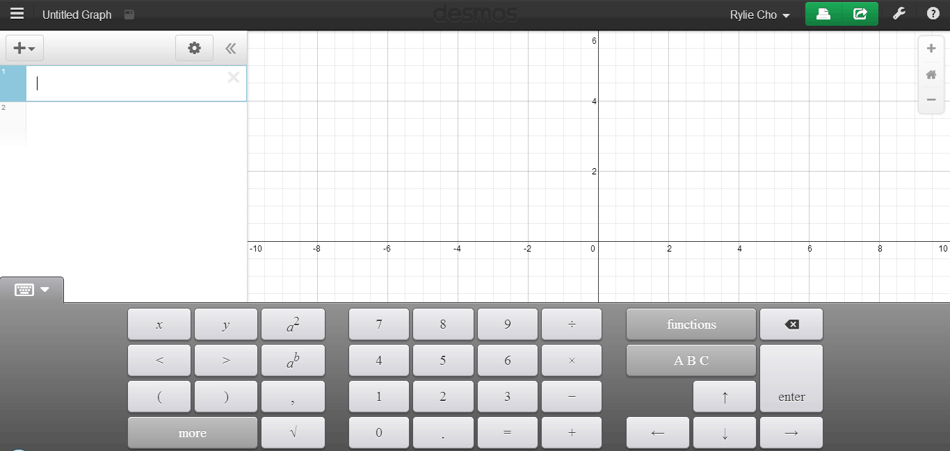 Desmos Graphing Calculator: Solve Equations Online and Save Their ...