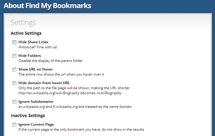 find my bookmarks