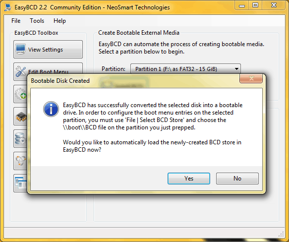 boot bcd file