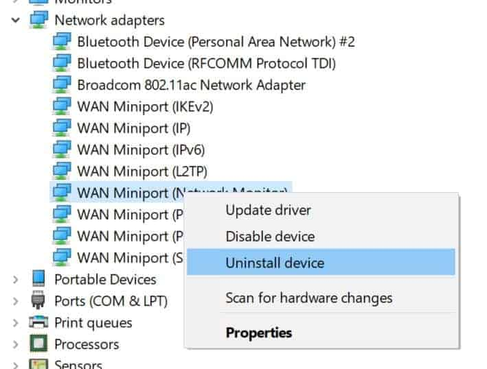 Ethernet doesn't have valid IP configuration