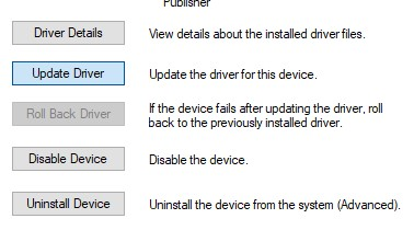 Update Touchpad Drivers
