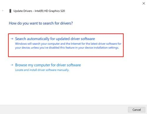Search driver online
