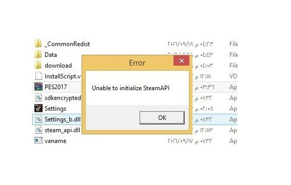 Fix Unable to Initialize Steam API
