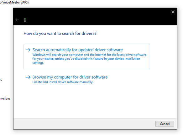 search automatically