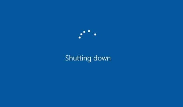 Elara Preventing Shutdown on Windows 10