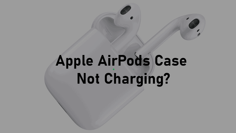 Airpods case not charging