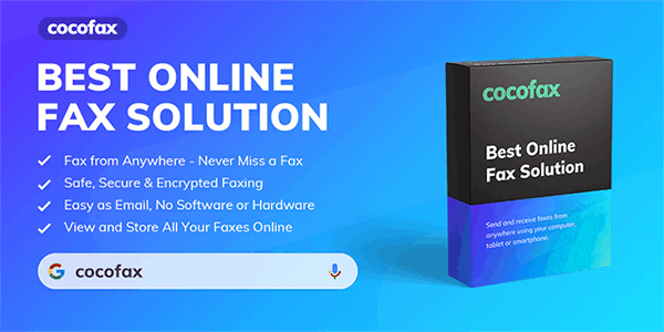 Cocofax - Best Online Fax Solution