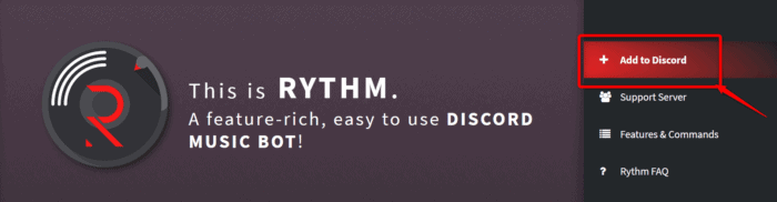 Rythm bot not working