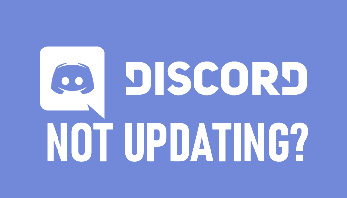 Discord Not Updating