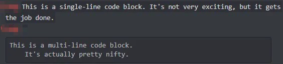How to Code Block in Discord?